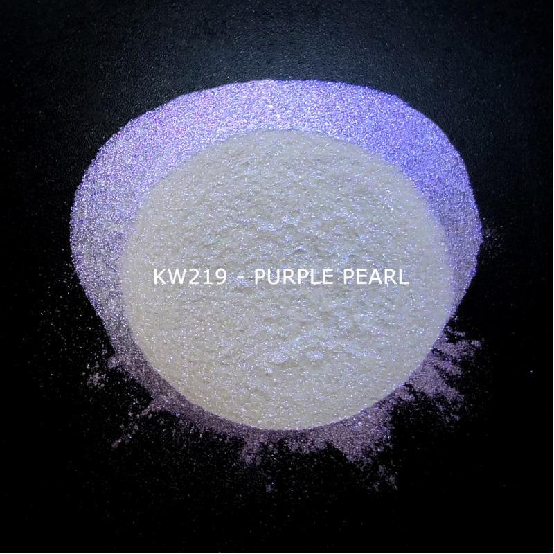 Индустриальный пигмент KW219 Purple pearl (Пурпурный перламутр), 10-60 мкм
