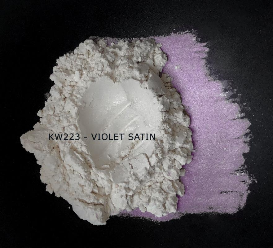 Индустриальный пигмент KW223 Violet satin (Фиолетовый атлас), 5-25 мкм