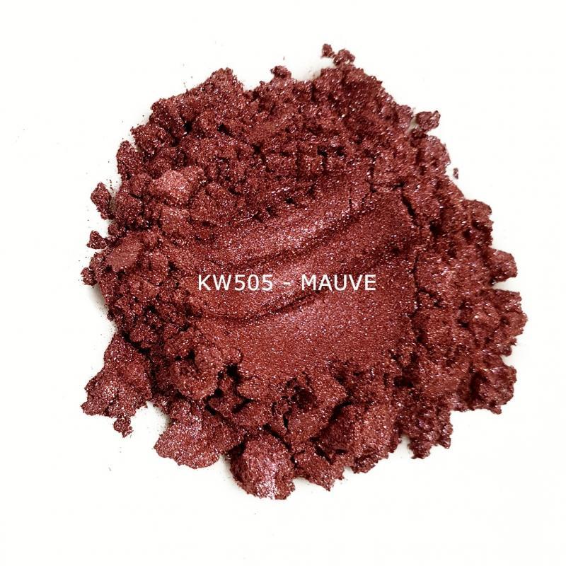 Индустриальный пигмент KW505 Mauve (Малиновый), 10-60 мкм