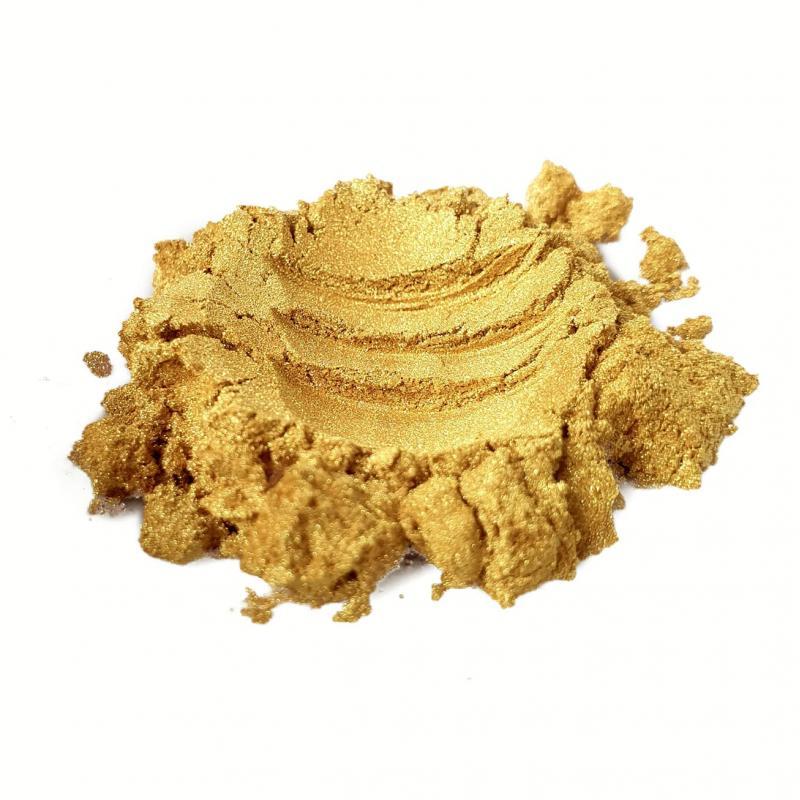 Индустриальный пигмент KW6302 Platinum Fine Gold (Золото с платиной), 5-30 мкм