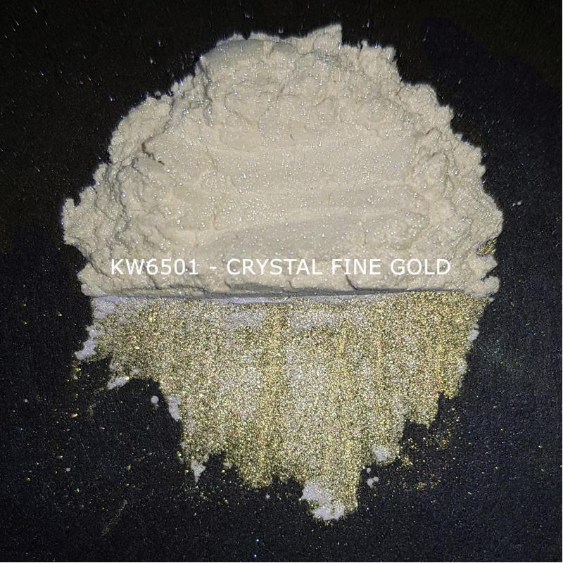 Индустриальный пигмент KW6501 Crystal Irisated Fine Gold (Золотой), 10-60 мкм