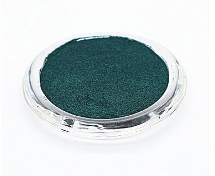 Алюминиевый цветной пигмент PCM7215 - Металлический изумрудный, 30-60 мкм (Metal emerald)