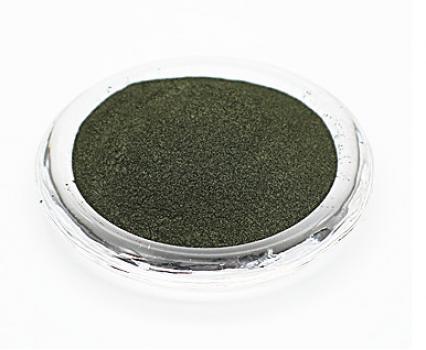 Алюминиевый цветной пигмент PCM7415 - Металлический оливковый, 30-60 мкм (Metal Olive)