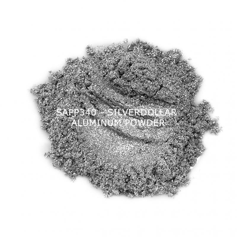 Индустриальный пигмент SAPP340 Silverdollar Aluminum powder (Серебряный доллар алюминий), 34-34 мкм