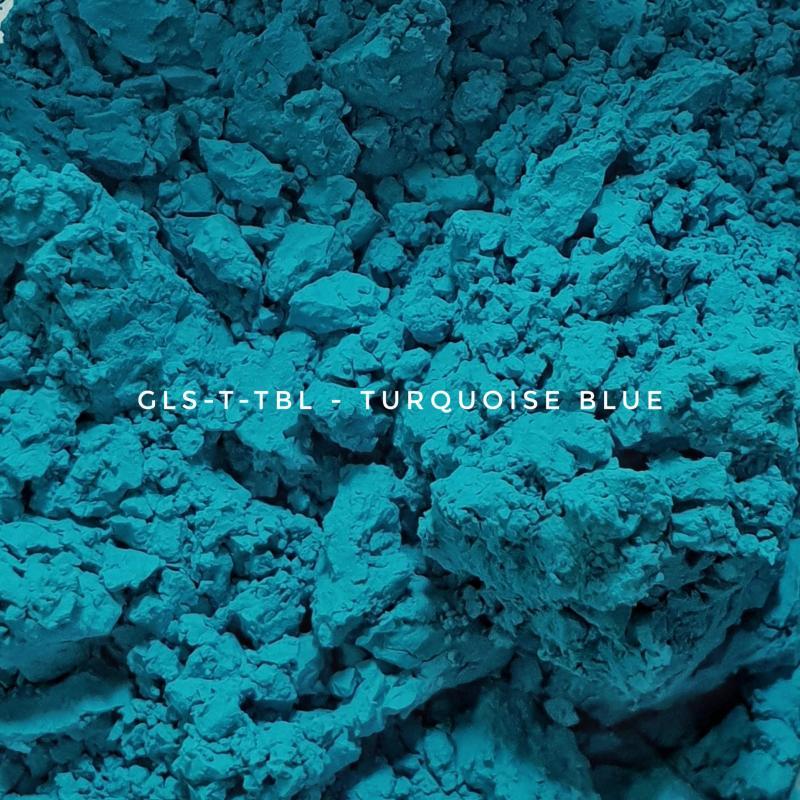 Универсальный пигмент GLS-T-TBL28 Turquoise blue 28 (Бирюзово-синий 28), 3-10 мкм